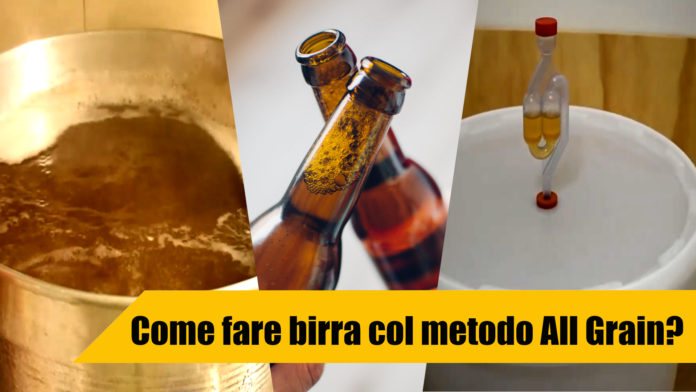 Come fare birra col metodo All Grain?