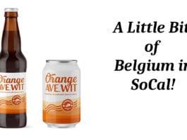 Coronado Orange Ave Wit: A Little Bit of Belgium in SoCal!