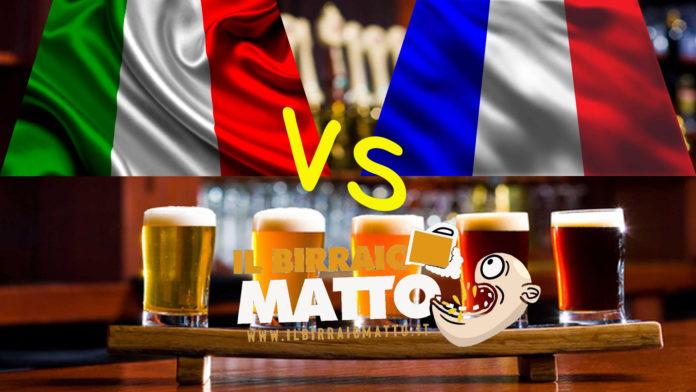 Tutte le birre Ale. Italia VS Francia