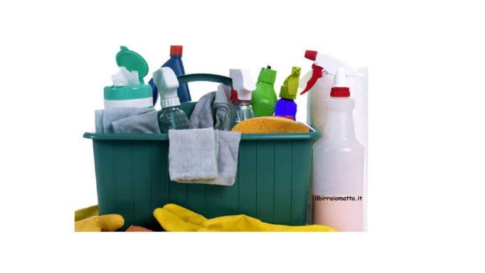 La sanitizzazione. I prodotti