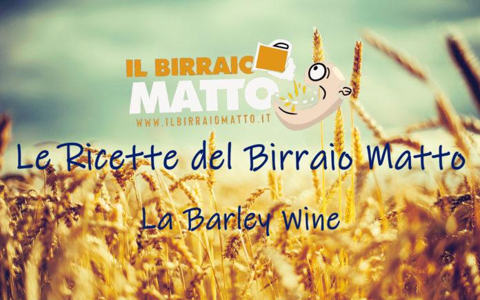 La Barley Wine in All Grain