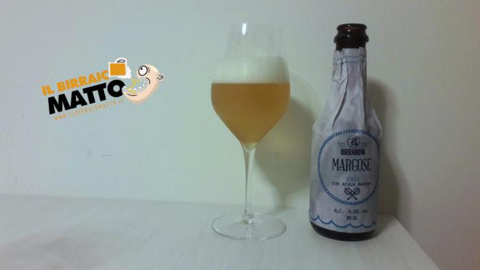 Margose Birranova. Dal mare alla bottiglia