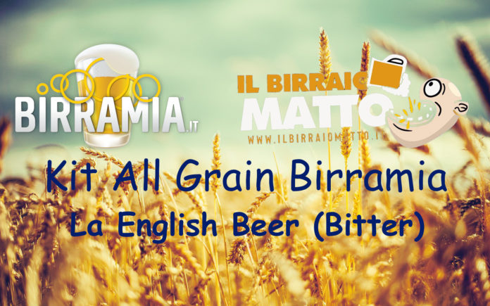 Kit All Grain Birramia. La english beer