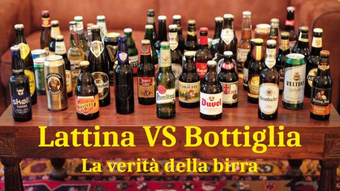 Birra in lattina