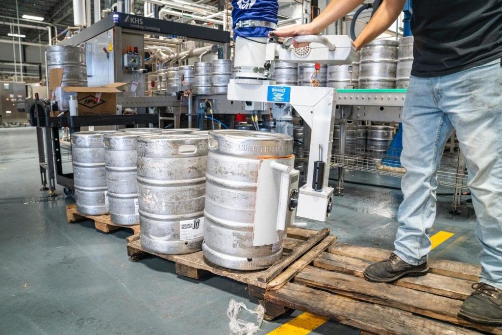 La birra e l'industria