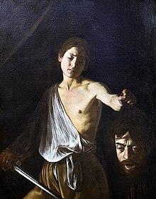 Davide con la testa di Golia di Caravaggio (1610)