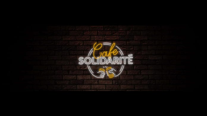 Café Solidarité. L'iniziativa solidale di Alken-Maes