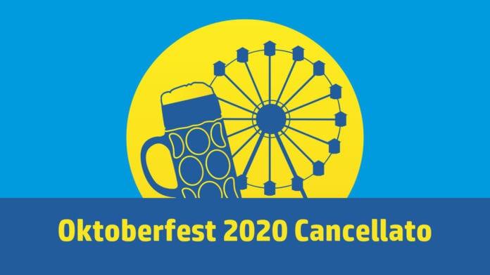 Oktoberfest 2020 cancelato