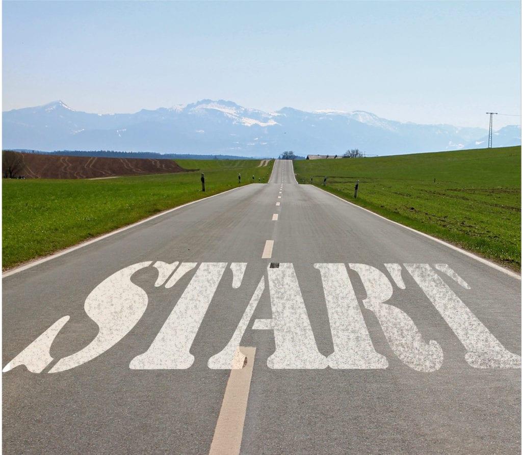 strada con start