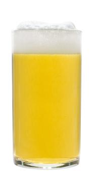 bicchiere di ipa
