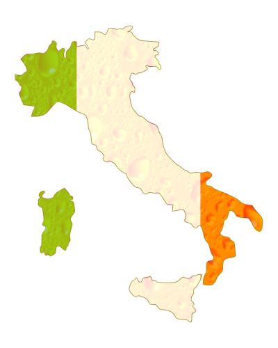 italia stivale