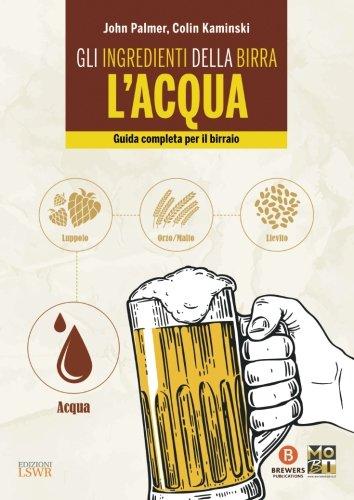 libro gli ingredienti della birra l'acqua