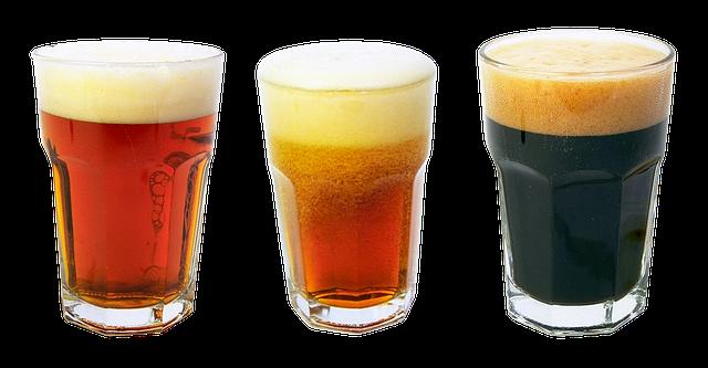 serie di birre industriali e artigianali