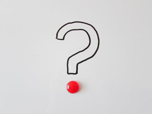 punto interrogativo