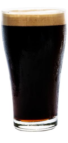 bicchiere di stout