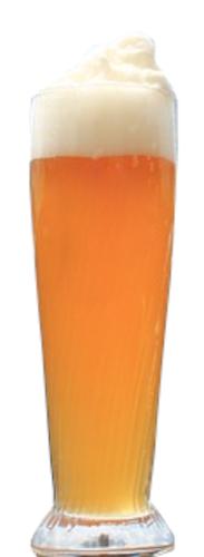 bicchiere di weisse