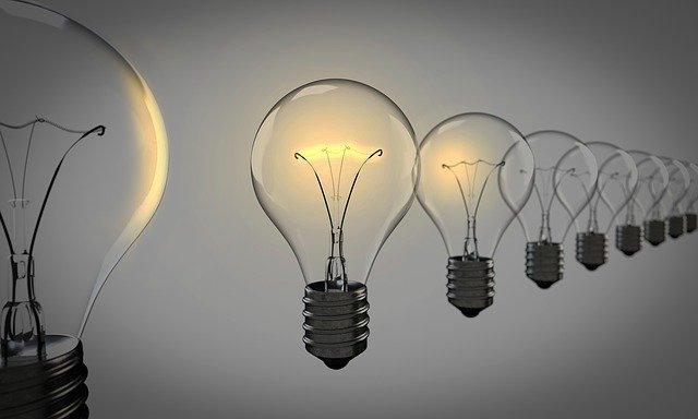 serie di lampadine