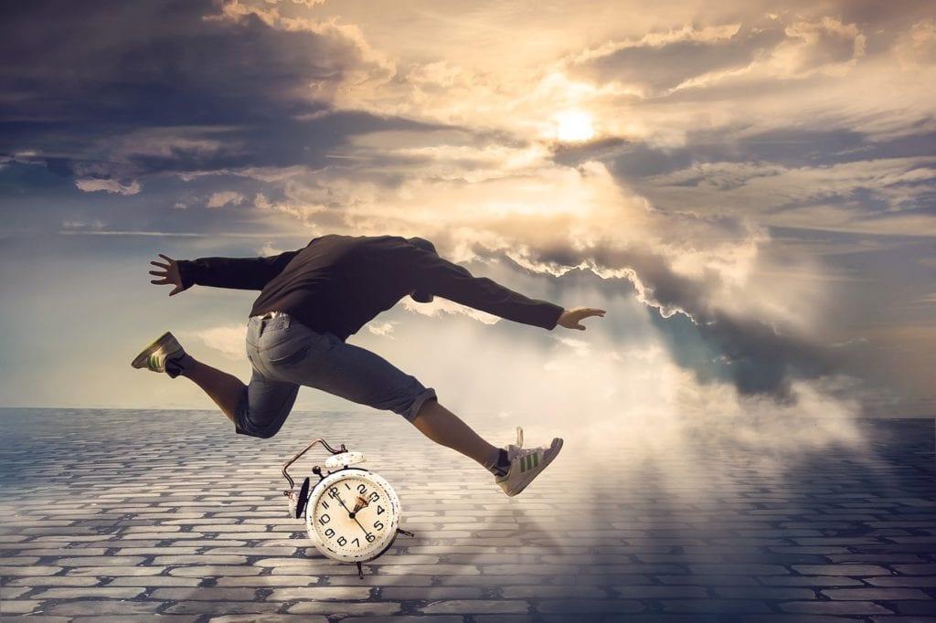 salto di tempo