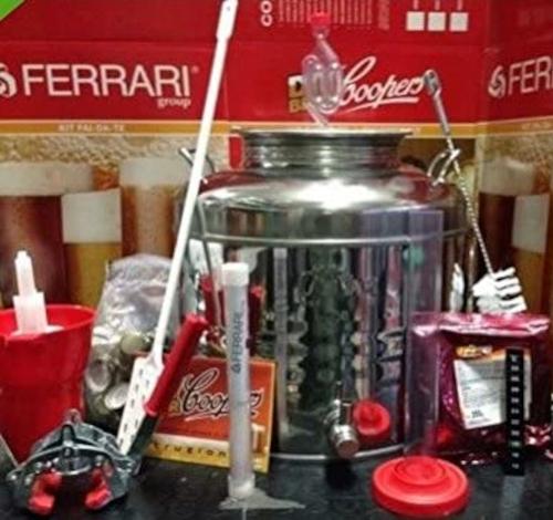 Kit fermentatore in acciaio inox