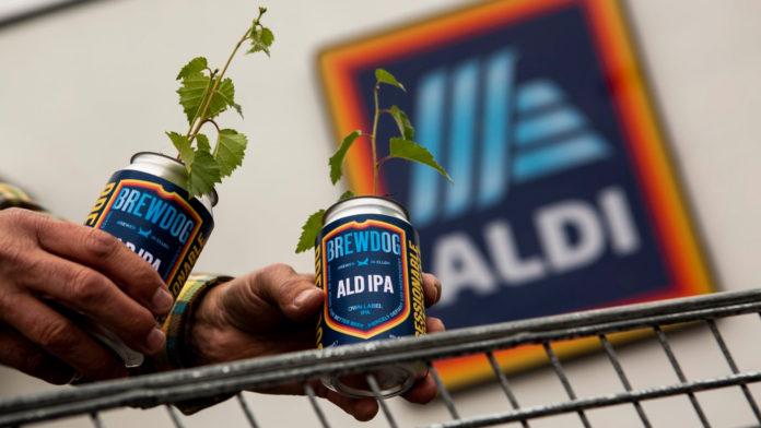 Dallo scherzo alla collaborazione con Aldi UK: Brewdog presenta Ald IPA