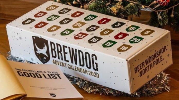 Brewdog pensa al Natale ed ecco il calendario dell'avvento in stile birraio!