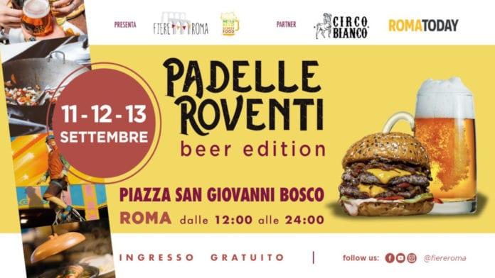 Padelle Roventi: l'appuntamento romano con la birra e lo street food