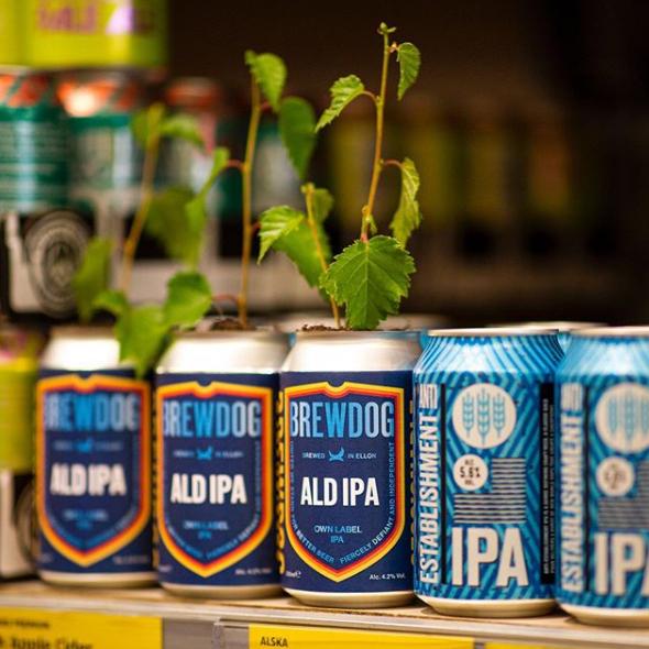 Anti-establishment beer e ald ipa