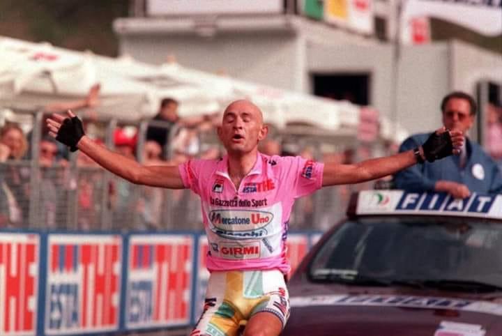 maglia rosa Pantani