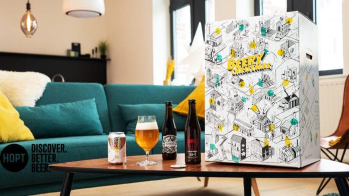 Beery Christmas: il calendario dell'avvento interattivo ed esclusivo di Hopt!