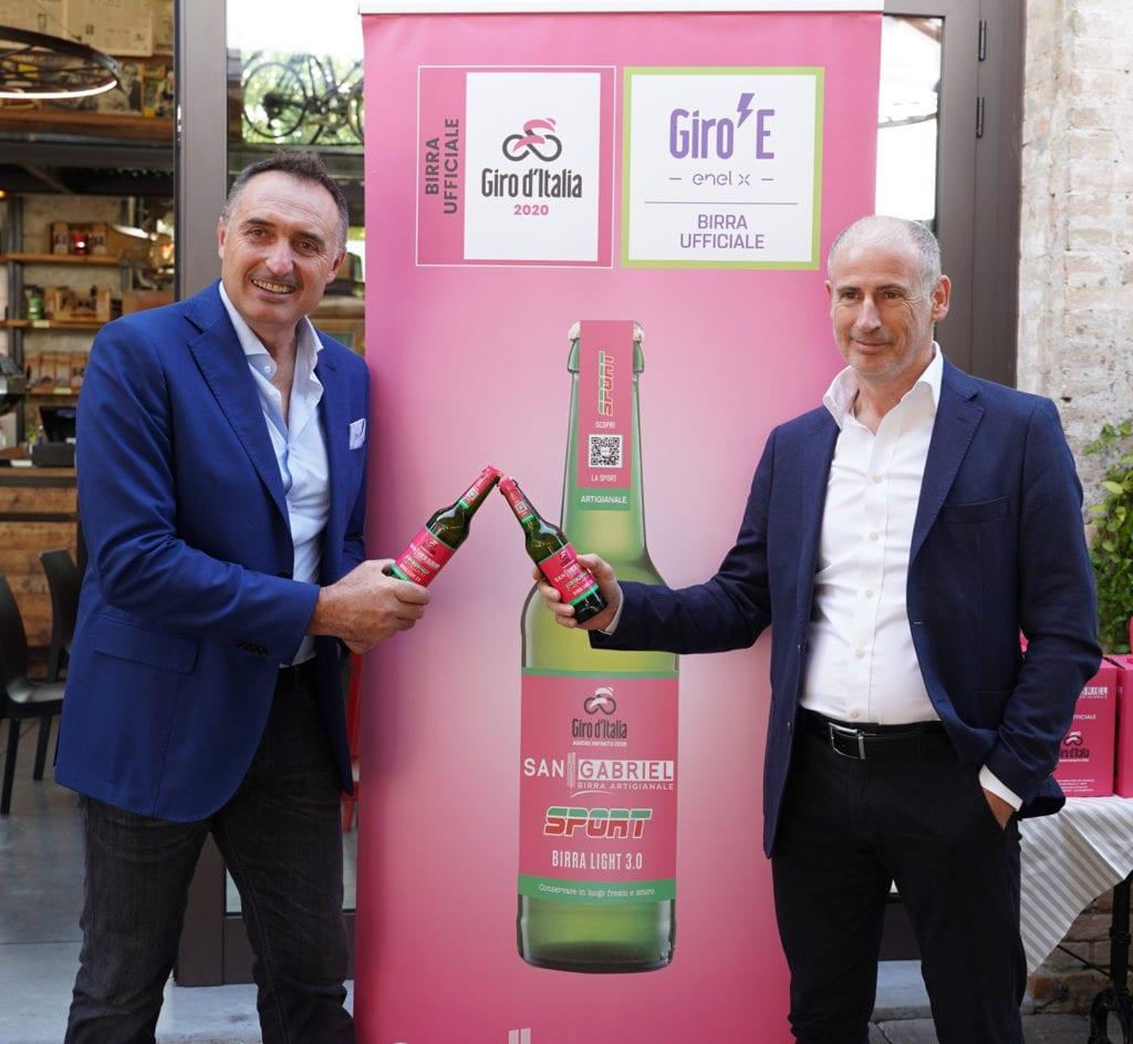San Gabriel ufficializzazione giro d'Italia 2020