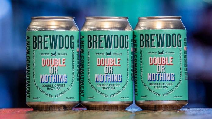Double or Nothing, la nuova IPA firmata BrewDog
