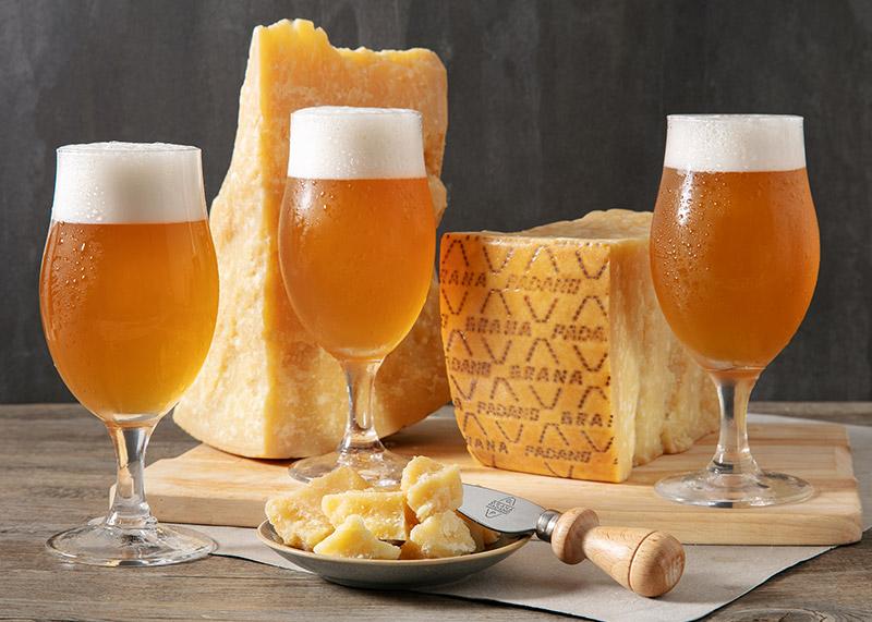 Belgian blond ale e Grana Padano