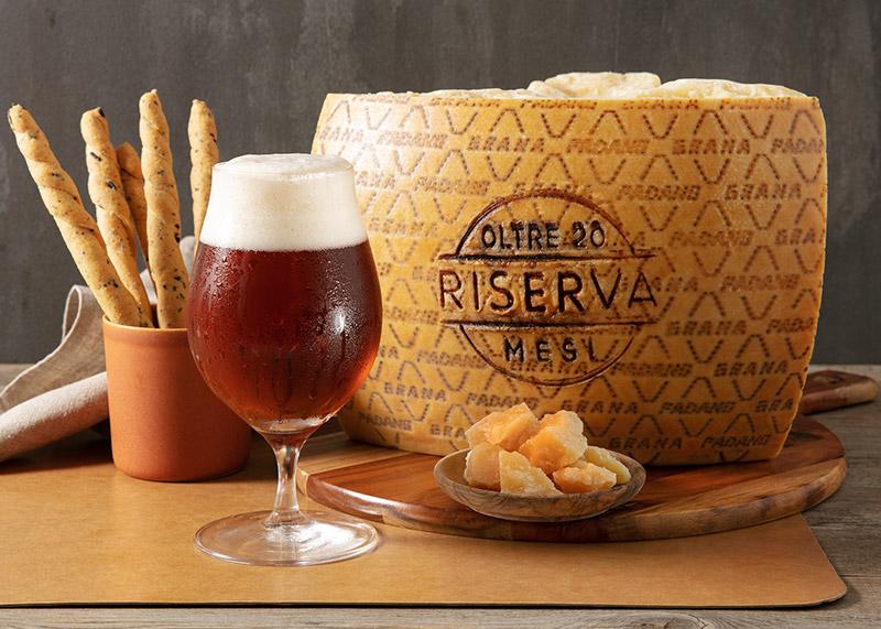 Belgian dark strong ale e Grana Padano