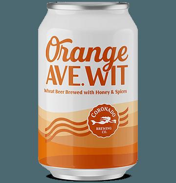 Orange Ave Wit in lattina