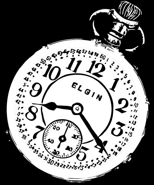 disegno orologio