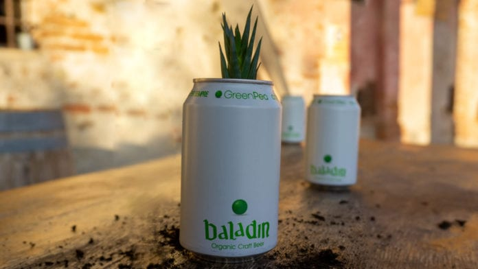 Baladin Green Pea: la birra artigianale biologica dal packaging