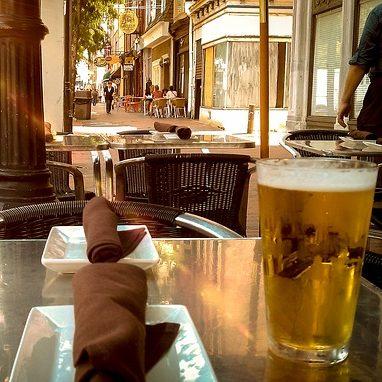 birra al tavolo
