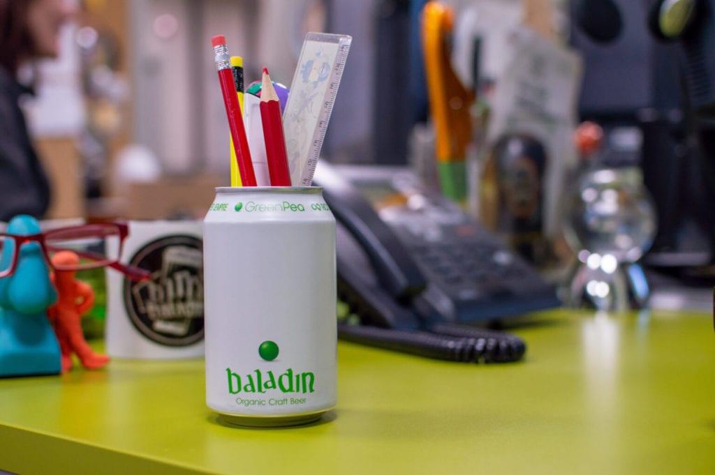 Baladin birra artigianale biologica Green Pea