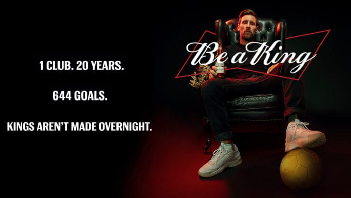 Budweiser: 644 bottiglie destinate ai portieri che hanno preso gol da Messi!