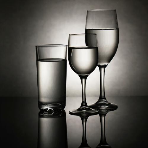 bicchieri vari