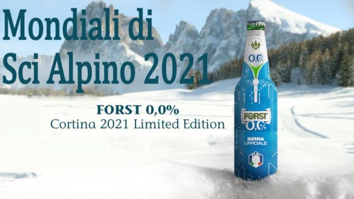 Mondiali di Sci Alpino 2021: birra Forst è partner della Fondazione Cortina