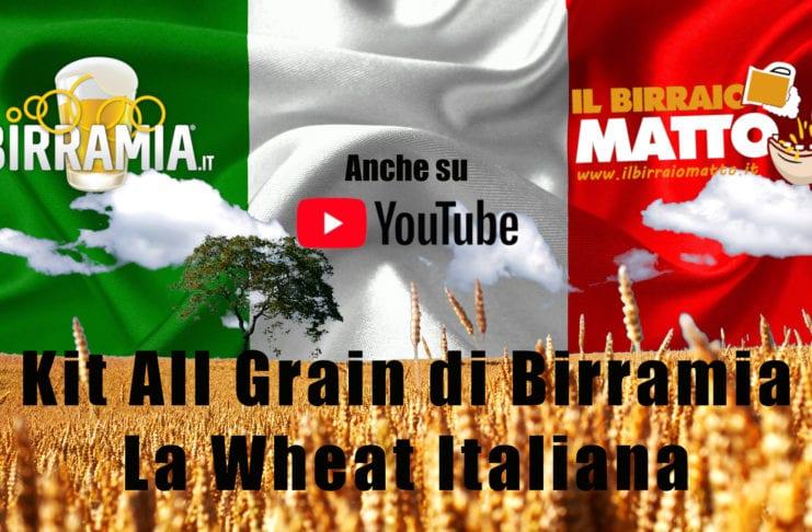 Birra artigianale italiana fatta in casa: ecco la Wheat del kit di Birramia
