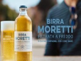 Birra Moretti filtrata a freddo: oltre al design rinnovato c'è molto di più!