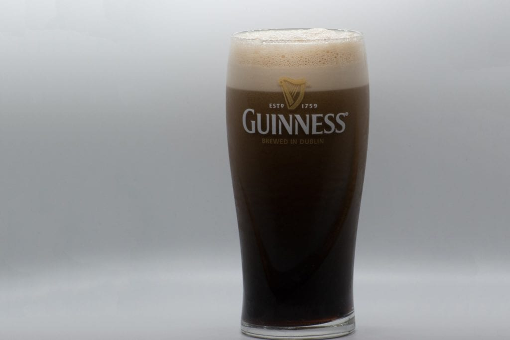 bicchiere Guinness