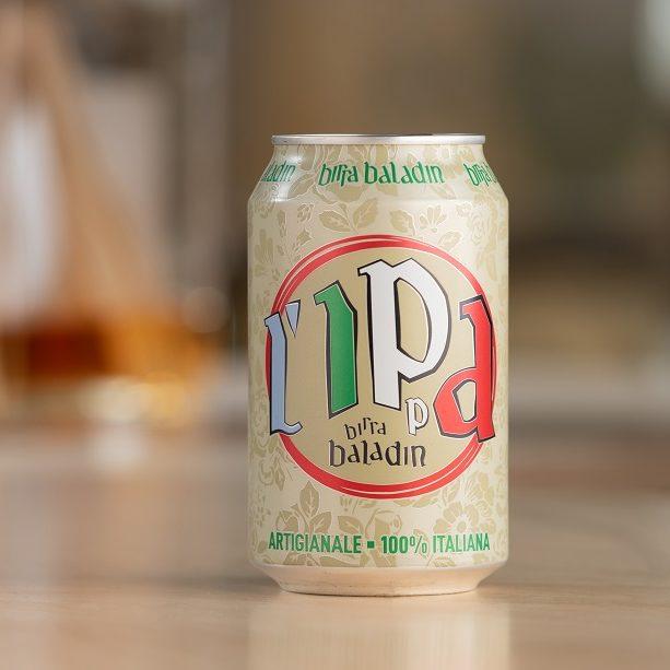 l'ippa, birra in lattina baladin