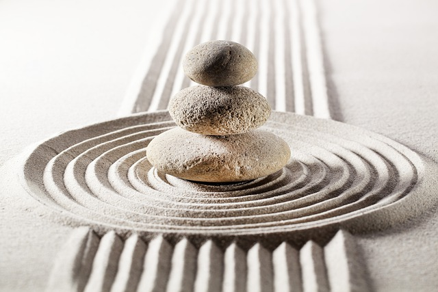 pietre giardino zen