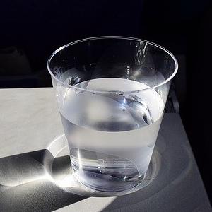 bicchiere con zucchero invertito
