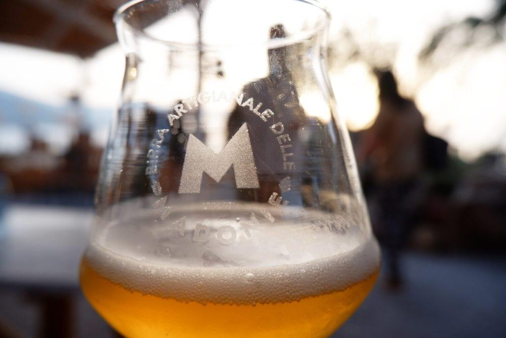 Birra con Cristalli di Manna e Fiori di Frassino