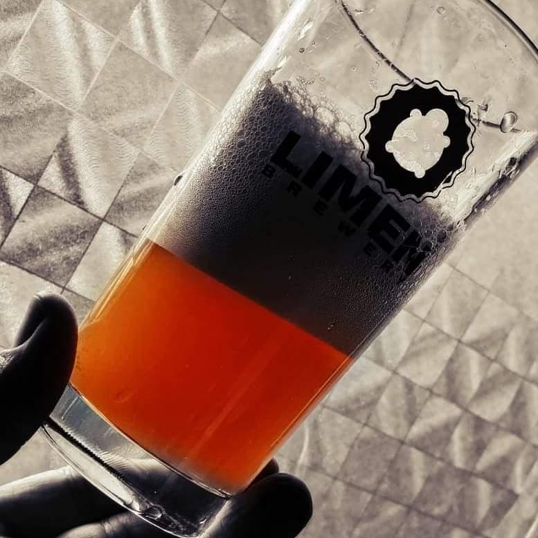 birra in bicchiere Limen Brewery