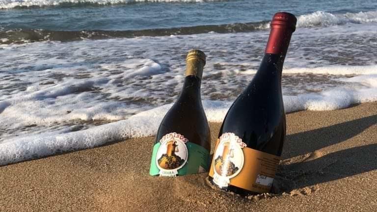 birre Krimisos su spiaggia